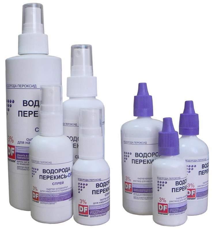 Gyógyított pikkelysömör peroxiddal, Kezelje a visszér hidrogén-peroxiddal